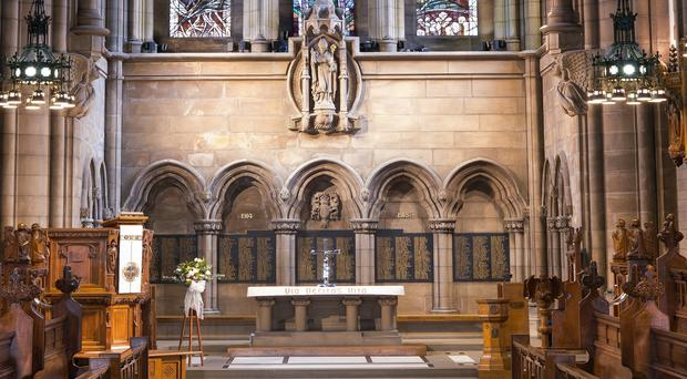 New names are to be added the First World War memorial in the University Chapel (university of Glasgow/PA)
