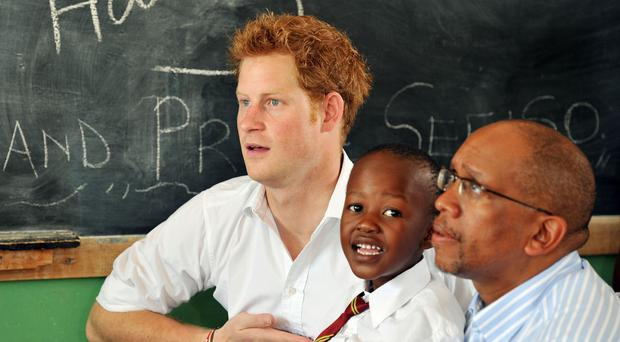 Prince Harry has visited Lesotho a number of times (John Stillwell/PA)