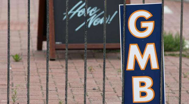 The GMB union hailed the tribunal ruling (Steve Parsons/PA)
