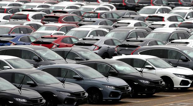 The SMMT has warned that investment in the UK car industry has fallen by nearly a half in the last 12 months (Andrew Matthews/PA)