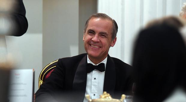 Bank of England governor Mark Carney hosted a £100,000 Christmas party (Victoria Jones/PA)