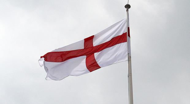 The Cross of St George will fly over 10 Downing Street for England's World Cup matches (PA)