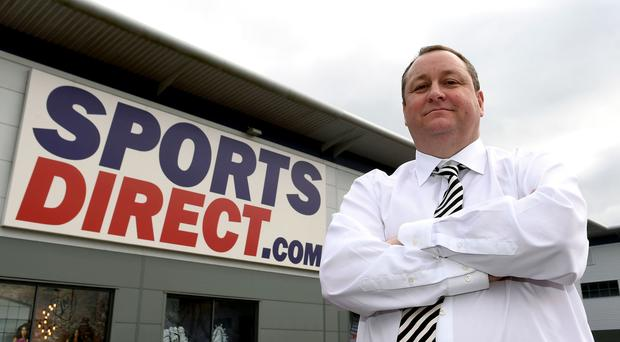 Mike Ashley's Sports Direct has been singled out (PA)