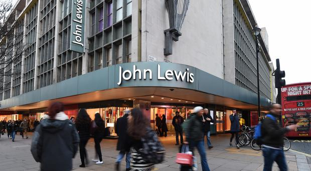 John Lewis said half-year profits will be 'close to zero' (Charlotte Ball/PA)