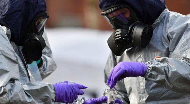 The Salisbury nerve agent attack led to a cooling of the relationship between the UK and Russia (Ben Birchall/PA)