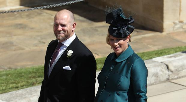 Mike and Zara Tindall have two daughters (Andrew Milligan/PA)