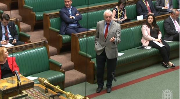 Labour MP Dennis Skinner (Parliament TV/PA)