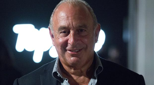 Sir Philip Green will find out the result of his High Court bid to stop 'criticisms' of him and his firm from being made public by the accountancy watchdog. (Ian West/PA)