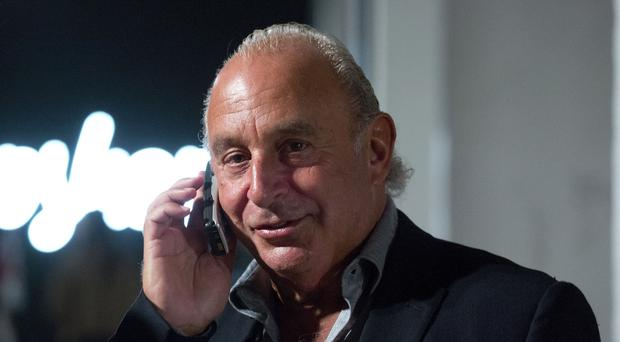 Sir Philip Green's firm Taveta has failed to get an injunction to restrict the publication of a report on a BHS audit (Isabel Infantes/PA)