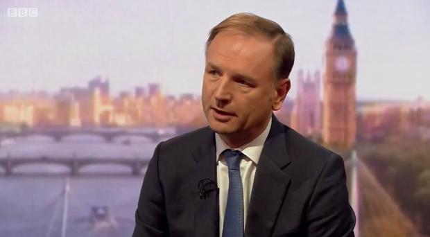 Simon Stevens said a no-deal Brexit was not 'a desirable situation' (BBC)
