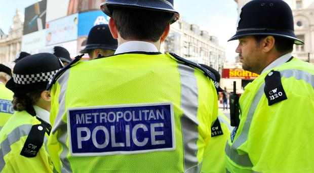 Metropolitan Police said four men were injured in the incident (Nick Ansell/PA)