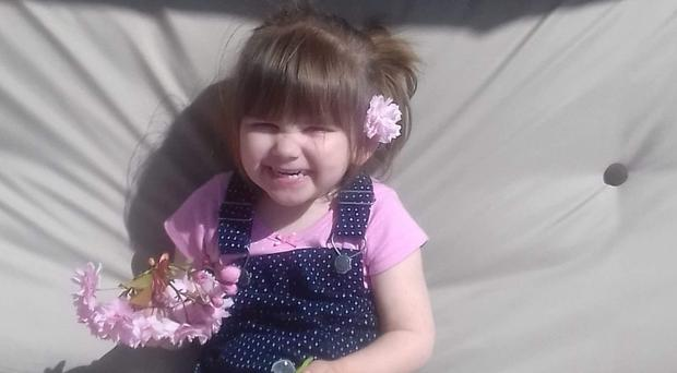 Ava-May Littleboy had been at the beach with her mother (Norfolk Police/PA)