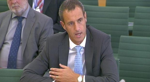 Sir Rob Wainwright, former head of Europol, gave evidence to the Commons Home Affairs committee (PA)