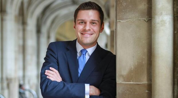 Conservative Party undated handout photo of Ross Thomson MP for Aberdeen South.