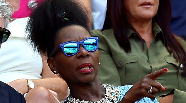 Floella Benjamin said young people who have been abused have nothing to be ashamed of (Nigel French/PA) on day two of the Wimbledon Championships at the All England Lawn Tennis and Croquet Club, Wimbledon.
