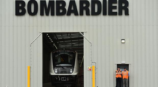 Bombardier and Hitachi intend to submit a joint bid to build HS2 trains (Joe Giddens/PA)