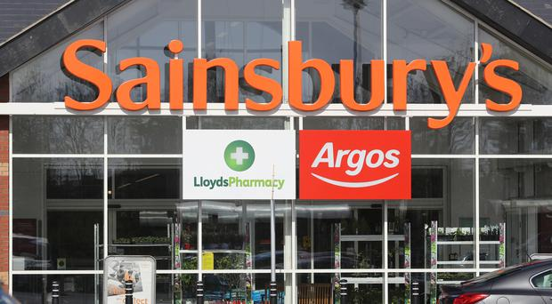 Supermarket Sainsbury's has seen a slowdown in sales growth (Owen Humphreys/PA)