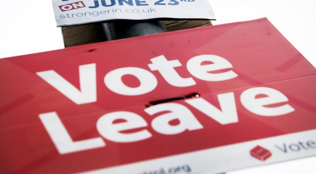 Vote Leave has reportedly been found guilty of electoral spending breaches (Danny Lawson/PA)