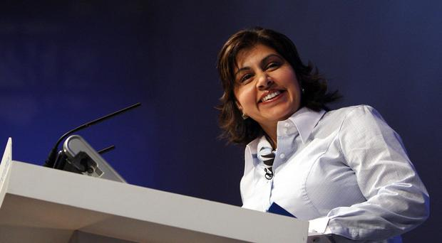 Former minister Baroness Warsi (Steve Parsons/PA)