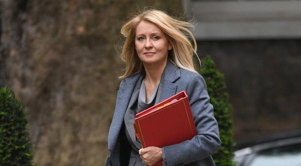 File photo dated 12/6/2018 of Esther McVey (Stefan Rousseau/PA)