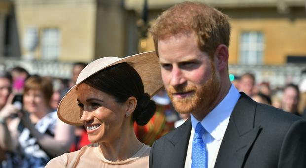 The Duke and Duchess of Sussex (Dominic Lipinski/PA)