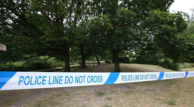 Police cordons are in place after two people were taken ill in Amesbury (PA)