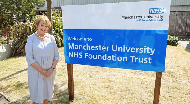 June Rosen at Manchester University NHS Foundation Trust (Peter Byrne/PA)