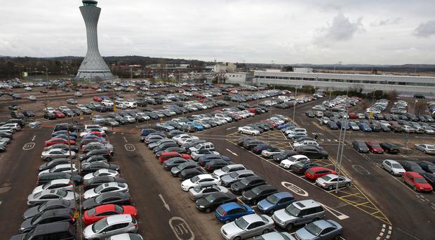 Airport car park fees can be extortionate, the RAC has warned (Andrew Milligan/PA)