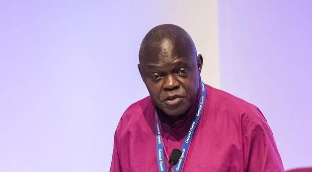 The Archbishop of York, Dr John Sentamu (Danny Lawson/PA)