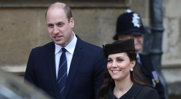 Who will the Duke and Duchess of Cambridge pick as Louis' godparents? (Simon Dawson/PA)