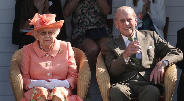 The Queen and Duke of Edinburgh will not attend the christening (Steve Parsons/PA)