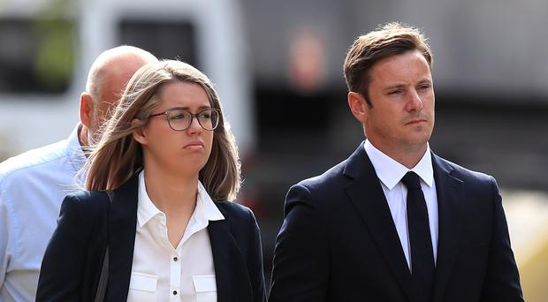 Liam Rosney and Victoria Rosney appeared at Mold Crown Court (Peter Byrne/PA)