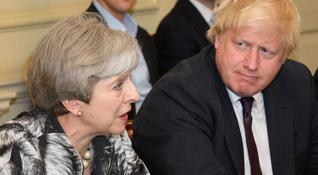 Prime Minister Theresa May is under pressure after the resignation of Boris Johnson (Leon Neal/PA)