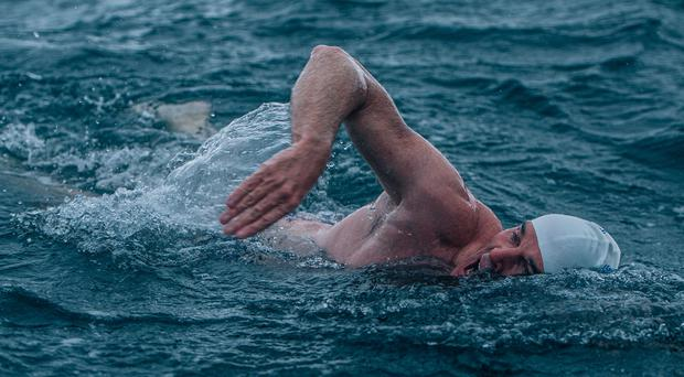 Endurance swimmer Lewis Pugh has called on the UK to do better on ocean protection ahead of an attempt to swim the length of the English Channel (Kelvin Trautman/PA)