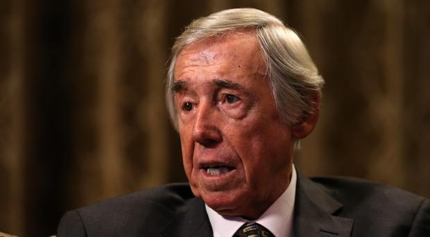 Gordon Banks urged England fans to support the Alzheimer's Society charity (Adam Davy/PA)