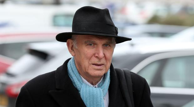 Liberal Democrat leader Sir Vince Cable (PA)