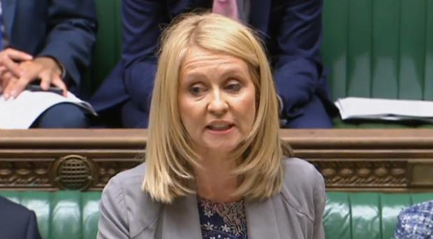 Work and Pensions Secretary Esther McVey (PA)