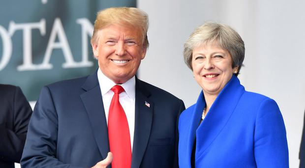 Trump blasts British prime minister ahead of meeting