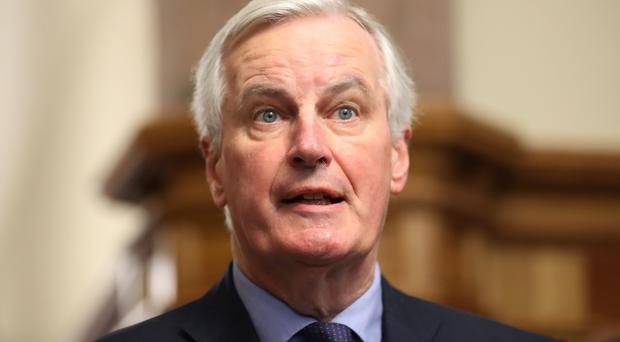 The EU's chief Brexit negotiator, Michel Barnier, has said the proposals must be workable (Niall Carson/PA)