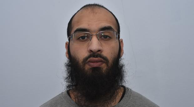 Husnain Rashid called for jihadis to attack Prince George (Greater Manchester Police/PA)