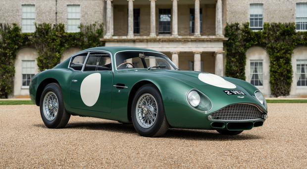 Undated Bonhams handout photo of a 1961 Aston Martin ÒMP209Ó DB4GT Zagato which has fetched more than £10 million at the annual Festival of Speed sale at Goodwood.