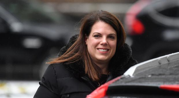 Minster of State for Immigration Caroline Nokes leaves after a special Cabinet meeting to discuss Brexit plans at 10 Downing Street, London.