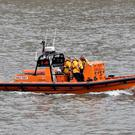 Lifeboat volunteers arrived on the scene in eight minutes (Nick Ansell/PA)