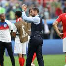 England manager Gareth Southgate applauds the fans (Owen Humphreys/PA)