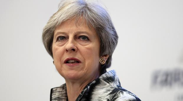 May presses on with her Brexit plan