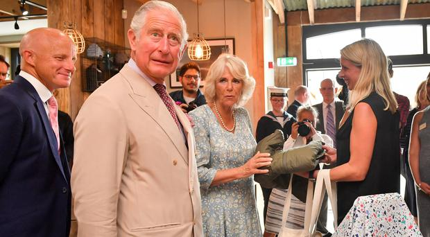 The Prince of Wales and the Duchess of Cornwall (Ben Birchall/PA)