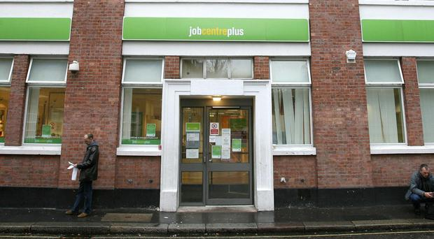 A Jobcentre Plus in London (Lewis Whyld/PA)