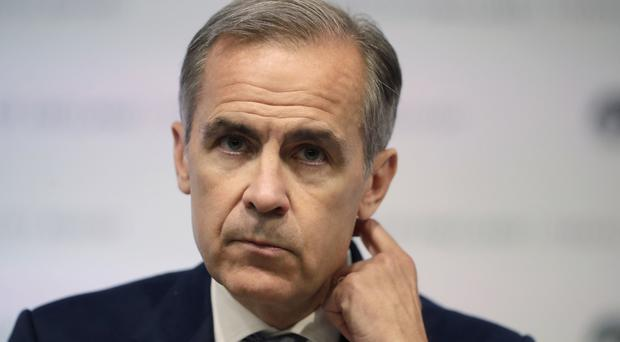 Bank of England Governor Mark Carney was giving evidence to the Treasury Committee on Tuesday (PA)