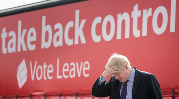 Vote leave was supported by high-profile politicians including ex-foreign secretary Boris Johnson (Stefan Rousseau/PA)