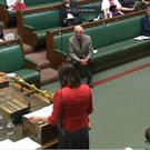 Business Minister Claire Perry responds to Labour MP Dennis Skinner (Parliament)